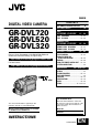 Preview Page 1 | JVC GR-DVL320A Camcorder Manual