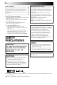 Page #2 of JVC LYT0085-001A Manual