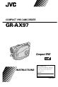 JVC GR-AX97   Page 1 Preview