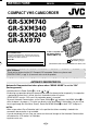 JVC GR-AX970 Instructions manual