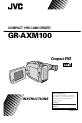 JVC GR-AXM100 Camcorder, Page 1