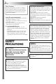 Page #2 of JVC GR-AXM33UM Manual
