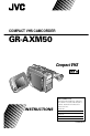JVC GR-AXM50 | Page 1 Preview