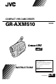 JVC GR-AXM510 | Page 1 Preview