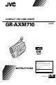 JVC GR-AXM710 | Page 1 Preview
