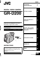Page #1 of JVC GR-D200 Manual