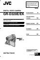 JVC GR-D320E Instructions manual, Page 1