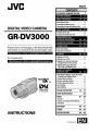 JVC GR-DV3000 | Page 1 Preview
