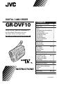 Page #1 of JVC GR-DVF10U Manual