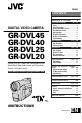 JVC GR-DVL20 | Page 1 Preview