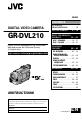 JVC GR-DVL210 Camcorder, Page 1