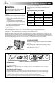 JVC GR-DVL210 Camcorder, Page 8