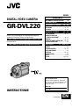 JVC GR-DVL220 | Page 1 Preview