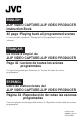 JVC GR-DVL500U - Digital Camcorder Camcorder, Software Manual, Page 1