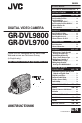JVC GR-DVL9800 Camcorder Manual, Page 1