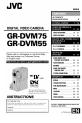 GR-DVM75, Page 1