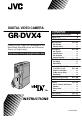 JVC GR-DVX4EA Manual