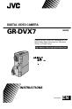 JVC GR-DVX7EA | Page 1 Preview