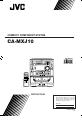 JVC CA-MXJ10 Manual