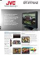 JVC DT-V17G1Z - 3g Hdsdi/sdi Studio Monitor | Page 1 Preview