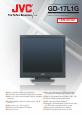 JVC GD-17L1G | Page 1 Preview