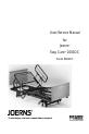 JOERNS B684DC Manual, Page 1