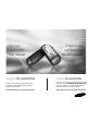 Samsung VP-MX10 Manual, Page #1