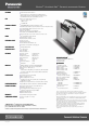 Panasonic Toughbook CF-74CCB02BM | Page 2 Preview