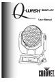 Chauvet Q-WASH 560Z-LED   Page 1 Preview