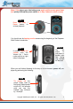 Empower Walk SanDisk Sansa Clip MP3 & Audio Book Player Manual, Page #3