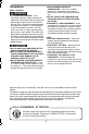 Panasonic Palmcoder Multicam PV-GS33 Operating instructions manual, Page 5