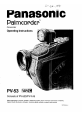 Page 1 Preview of Panasonic Palmcoder PV-A16 Operating instructions manual