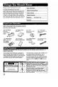Panasonic Palmcoder PV-A16 Camcorder Manual, Page 2