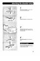 Panasonic Palmcoder PV-A16 Camcorder Manual, Page 7