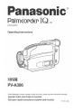 Palmcorder IQ PV-A306, Page 1