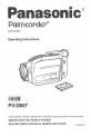 Panasonic Palmcorder PV-D607 Manual, Page 1