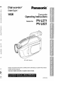 Panasonic Palmcorder PV-L621, Page 1