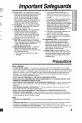 Panasonic Palmcorder PV-L621 Camcorder Manual, Page 5