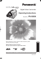 Panasonic PV-GS36 Camcorder Manual, Page 1