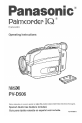 PVD506 - CAMCORDER Manual, Page 1
