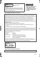 Panasonic VDR-D50P Operating instructions manual, Page 3