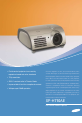 Samsung SPH710AE - 700 Lumens XGA DLP Projector | Page 1 Preview