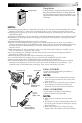 JVC GR-FX23 Camcorder Manual, Page 5