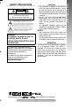 Page #3 of JVC GR-SXM37 Manual