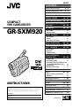 JVC GR-SXM920 | Page 1 Preview