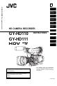 JVC GY-HD110 Manual, Page #1