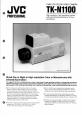 JVC TK-N1100 | Page 1 Preview