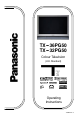 Panasonic TX-36PG50 | Page 1 Preview