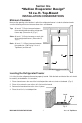 Page 7 Preview of Whirlpool MULLION EVAPORATOR DESIGN Operation & user's manual