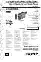 Preview Page 1   Sony CCD-TR311 Camcorder, VCR Manual